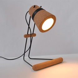 Craig Foster's 'Kurk' is a desk lamp that requires no screws or glues to assemble.