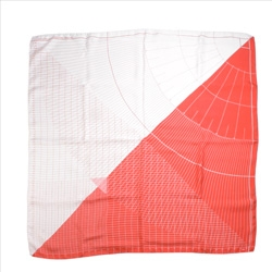 The Measuring Square Scarf by Sebastian Bergne.