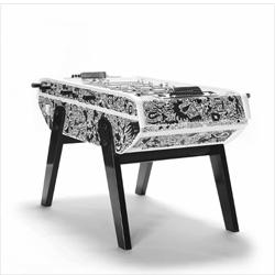 'Rock me Baby' foosball table from Fabien Verschaere and Domeau & Pérès.