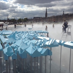 MVRDV's Bastide Niel on Miroir d'Eau in Bordeaux.