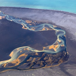 Andre Ermolaev's beautiful aerial photos of volcanic Iceland.