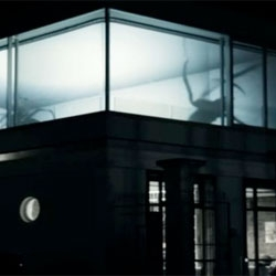 Not one for arachnophobes, but I love this projection of giant spider shadows by German designer Friedrich van Schoor.