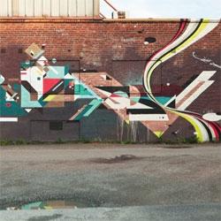 Beautiful street art by neli0 in Göteborg.