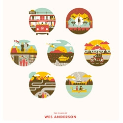 The Films of Wes Anderson by DKNG studios.