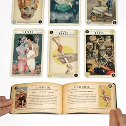 Zombie Tarot cards from Headcase Design with designers/illustrators Paul Kepple, Ralph Geroni.