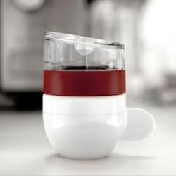 The Piamo espresso maker by Gemodo Coffee and Lunar Europe.