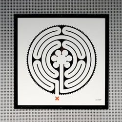 Artist Mark Wallinger has unveiled his labyrinth design for artworks to be displayed at every one of the 270 stations on the London Underground to commemorate the network's 150th anniversary.