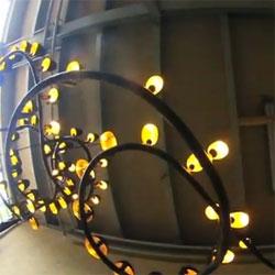 The Molenschot Citylight Chandelier.