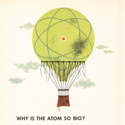 Vintage Disney science illustrations from 1956 introduce us to 'Our Friend the Atom'
