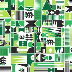 Lovely pattern designs from Stefan Page.