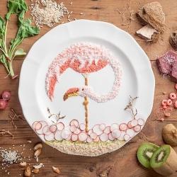 Food art from Anna Keville Joyce & Agustín Nieto.