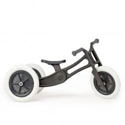 The Wishbone bike now comes in a recycled edition, made from pre-loved, residential carpet.