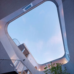 Spiraling home, the Toda House by Kimihiko Okada in Hiroshima.