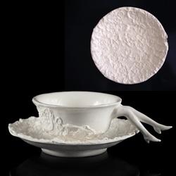 Blaue Blume Lacy Cup made by tina tsang/ undergrowth uk sold from Reiko Kaneko