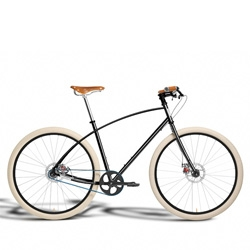 The beautiful new Budnitz Bicycles No. 3 Honey Special Edition.