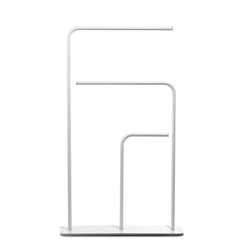 The minimalist Gru towel rail by Marco Guazzini for ex.t.