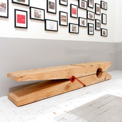 Molletta Bench by Baldessari e Baldessari.