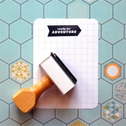 Ready for adventure, adorable stamp from Ann-Marie Loves Paper.