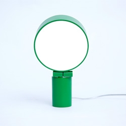 Jonas Wagell's Lightworks - a small lamp offering a dimmable flood light that works on sideboard, desks, shelves, or as a wall or ceiling fixture.