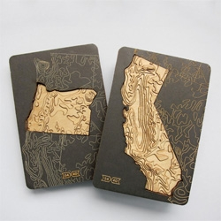 Bureau of Betterment and Fifty-Four Forty's Topography of America State Magnet series.