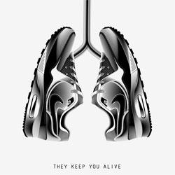 Great Nike Air Max poster series by Anton Burmistrov.