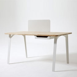 Mantis desk by Samuel Wilkinson for Case.