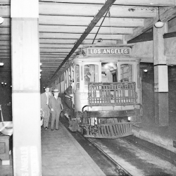 A look at LA's original subway system located less than a block from the current red line.