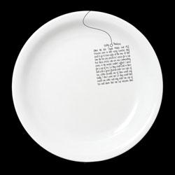 Visitors share their experiences on one-off plates at the Shoreditch restaurant Dishoom as part of OgilvyOne UK's campaign. The plates are then added to the restaurant's inventory for others to read and share.
