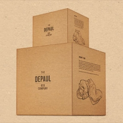 The Depaul Box Co sell boxes to help you move to your home while donating proceeds to and raising awareness about the homeless.