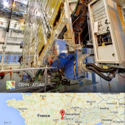 Google Street View takes you inside CERN, offering a glimpse inside the home of the Large Hadron Collider in Geneva, Switzerland.