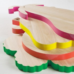 Vege-table chopping boards from Alessandra Baldereschi for Seletti.