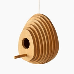 Tree Ring Birdhouse, designed by Jarrod Lim for Hinika.