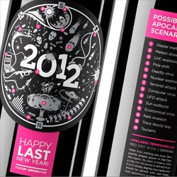 StudioIN's corporate gift, a 2012 Apocalypse wine.