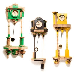 Orlogin, Ben Broyde's grandfather clock inspired series of clocks.