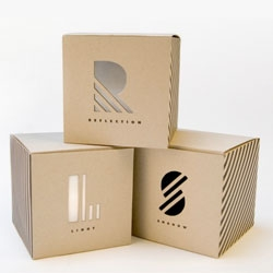 Fun packaging by student Chris Ferrante.