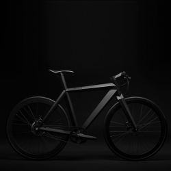 The sleek B-9 NH Black Edition bicycle from BME Design.