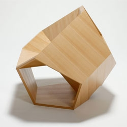The Dodecahedronic Chair by Hiroaki Suzuki.