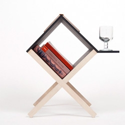 Buchtisch, the book table, by Studio Voigt Dietrich.