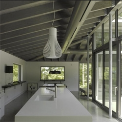 Bromont House near Bromont, Québec by Paul Bernier Architecte.