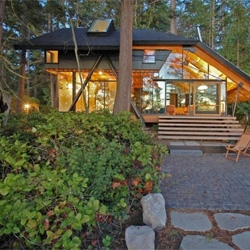 Sneeoosh Cabin in Washington's Puget Sound by Zeroplus Architects