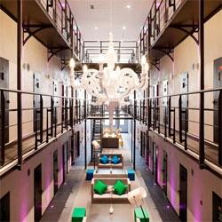 The Het Arresthuis jail in Roermond, the Netherlands has been reborn as a hotel through Dutch hotel group Van der Valk.