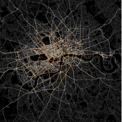Ed Manley (UCL Geomatic Engineering) maps the use of private hire cabs across London.