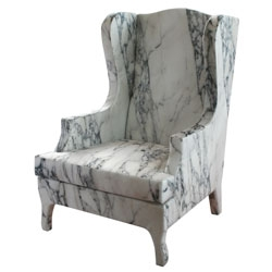 Louis XC goes to sparta, an impressive marble throne designed by Maurizio Galante and Tal Lancman for Cerruti Baleri.