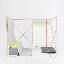 Soft Fold Cabane by Marie Dessuant and Margaux Keller.