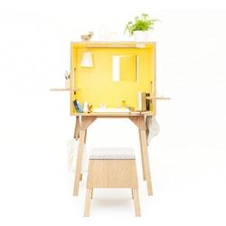Koloro Desk Workspace by Torafu Architects.