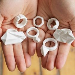 Bone China Ceramic Jewellery series by Moko.