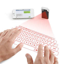 The Keychain Laser Projection Virtual Keyboard means you can have a keyboard at your fingertips anywhere.