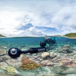 Fantastic high-res 360 degree panormas of coral reefs across the world. The Catlin Global Reef Record collates and communicates images shot with its robust custom-built underwater camera.