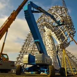 'The Kelpies', a timelapse short film by award winning filmmaker Walid Salhab shot over 7 months as Andy Scott's 100 foot steel horses are assembled.