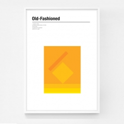 Minimalist cocktail posters from Nick Barclay.